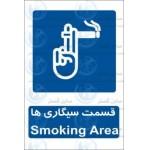 علائم ایمنی قسمت سیگاری ها