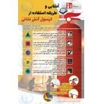 پوستر ایمنی طریقه استفاده از کپسول آتش نشانی